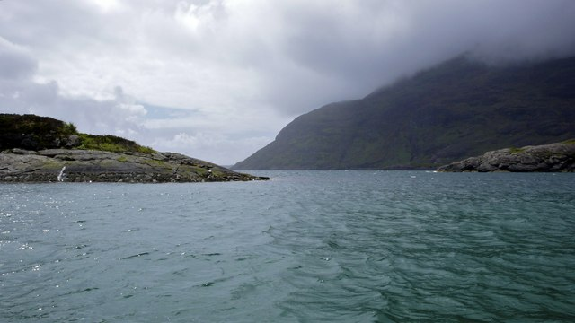 Sgeir Dorcha from the Elgol / Coruisk ferry