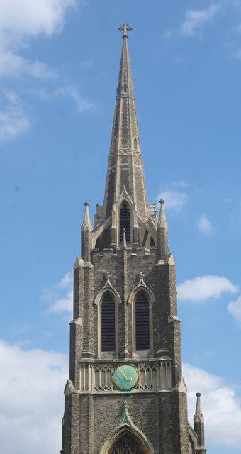 Spire, St Michael's Church, Highgate Village, North London