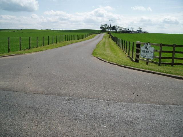 Road to Hillhouse Farm