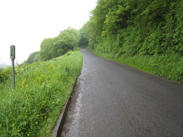 Minor road to Gillamoor