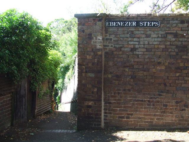 Ebenezer Steps, Bridgnorth