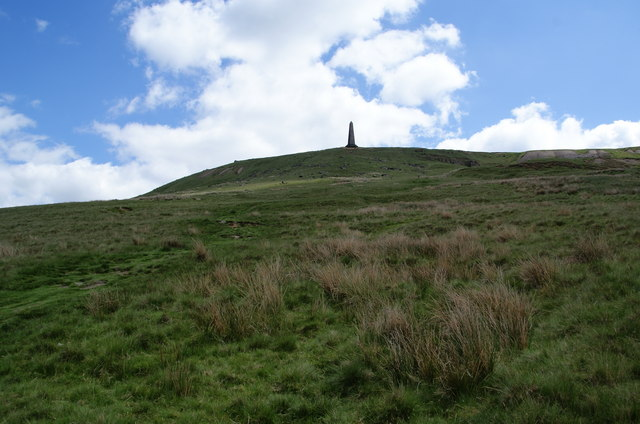 Path up to Stoodley Pike