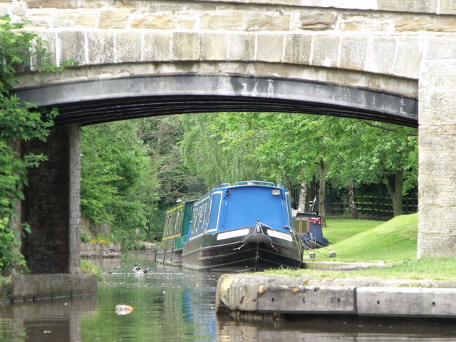 Llangollen Canal at Trevor Basin, Denbighshire