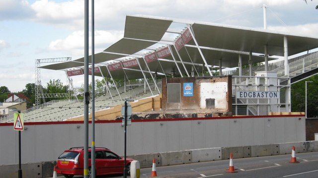 Edgbaston Cricket Ground - rebuild