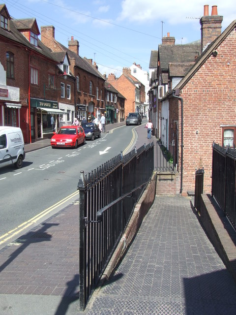 Ramp leading to Railway Street, Bridgnorth