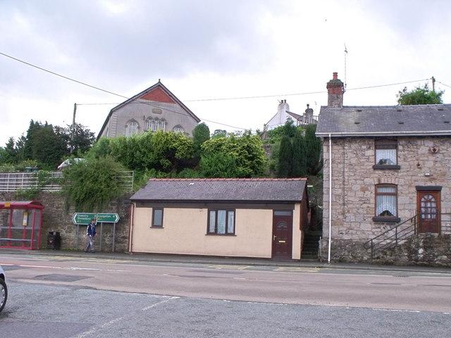 Village centre, Froncysyllte near Llangollen
