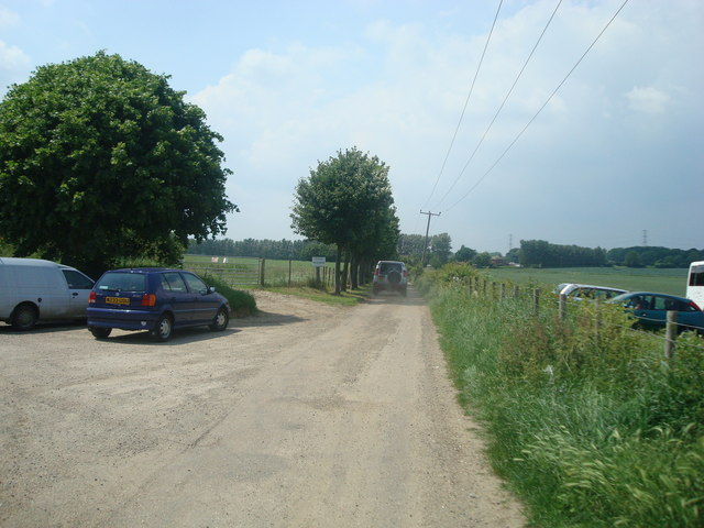 Track to Hulberry Farm