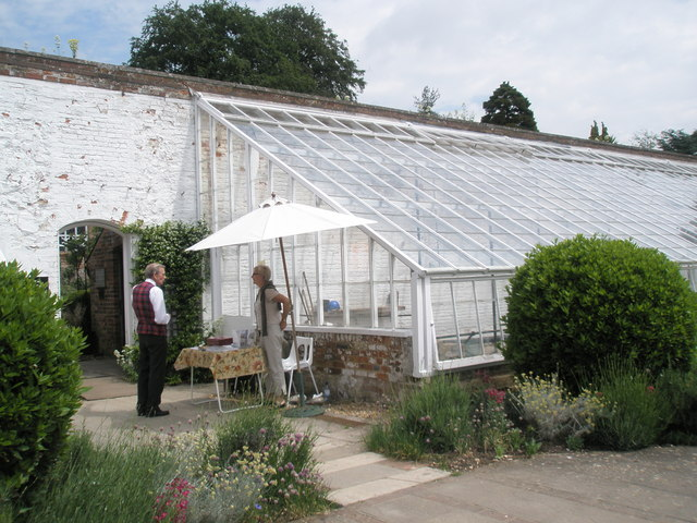 Volunteer helpers at the Stansted House 2010 Garden Show
