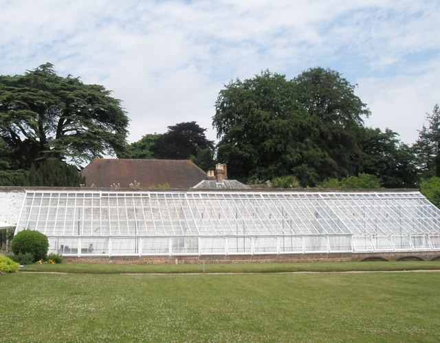 Splendid glasshouse at Stansted House