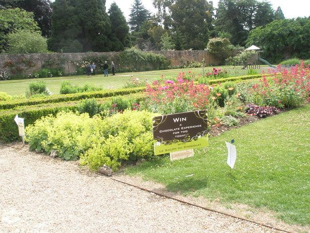 Splendid gardens at Stansted House