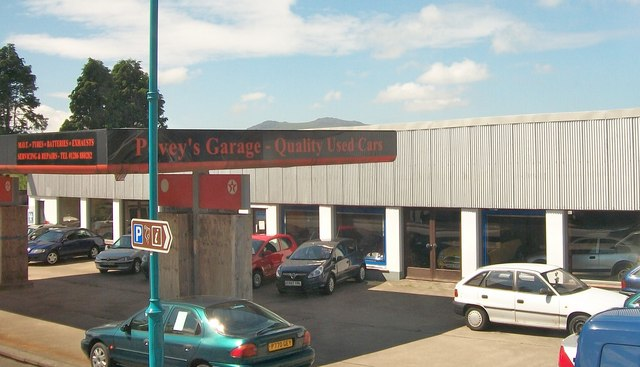 Povey's Garage, Penygroes