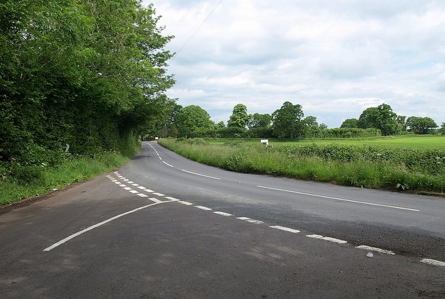 Road junction near Odcombe