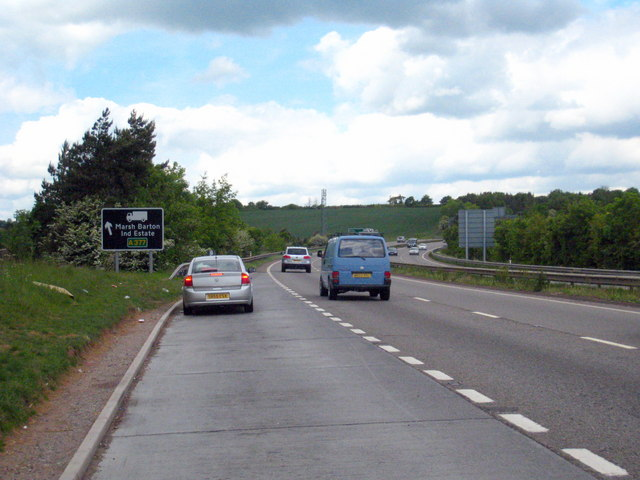 Lay-by on the A30 near Alphington
