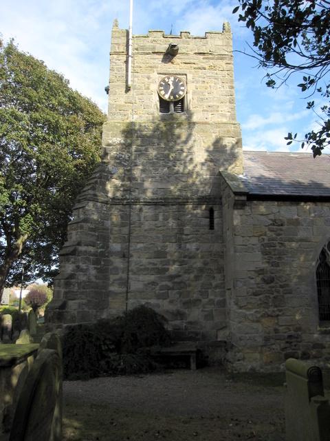 St John the Baptist, Cayton - tower