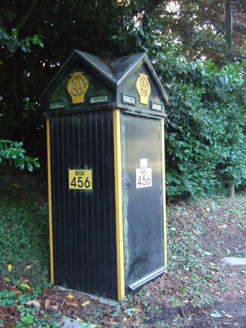 AA phone box 456 (no longer used)