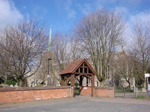 Lowestoft St. Margaret's church