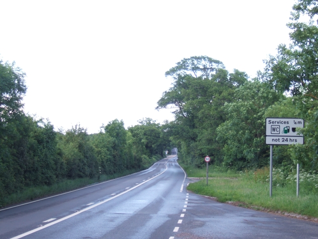 A3052 looking east