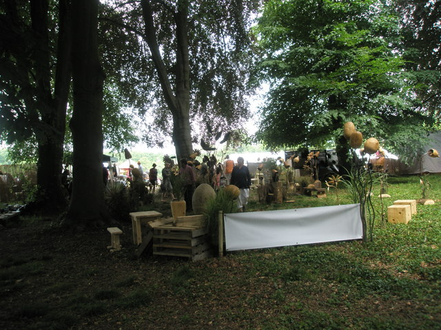 2010 Stansted House Garden Show- woodwork exhibits