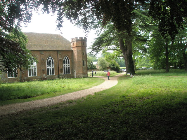 Chapel, Stansted Park: taken from the north-east