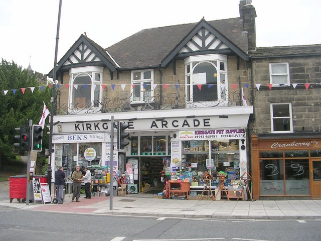 Entrance to Kirkgate Arcade - Kirkgate