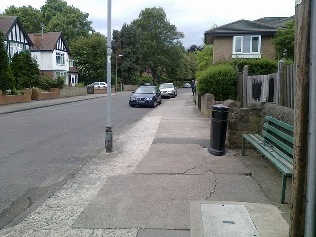 View of Dovecote Lane