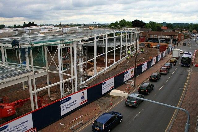 Building Beeston Tesco 14th June 2010