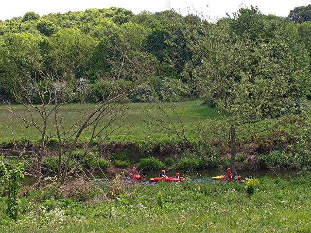 Canoeing, River Derwent