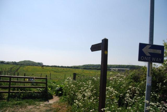 Footpath off Water Lane