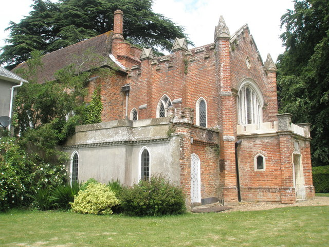 Chapel, Stansted Park: taken from the south-east