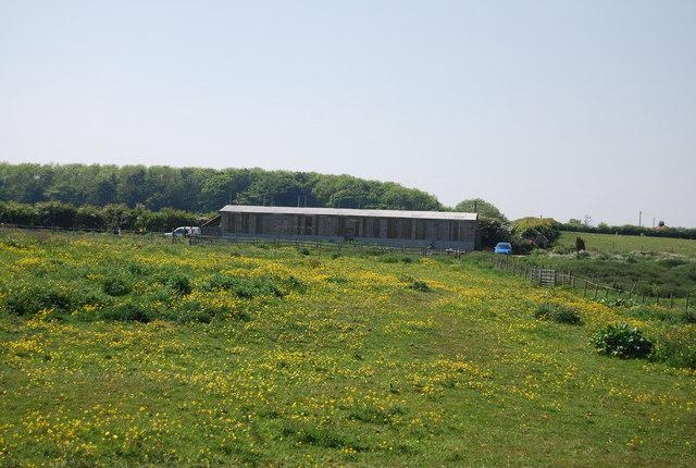 Barn on the edge of Flamborough
