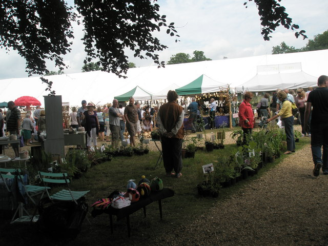 2010 Stansted House Garden Show- plant stall (2)