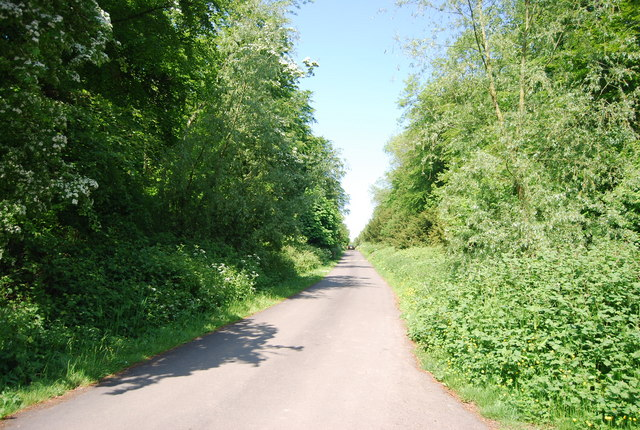Access Rd to Dane's Dyke Country Park