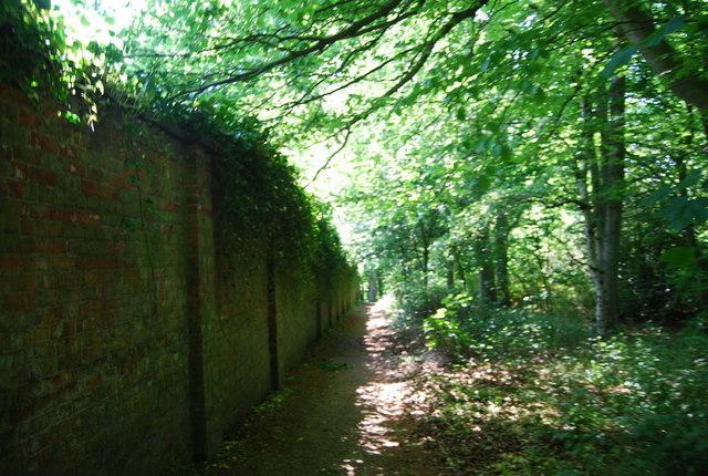 Footpath to Dane's Dyke