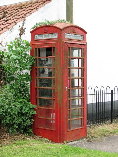 K6 telephone box