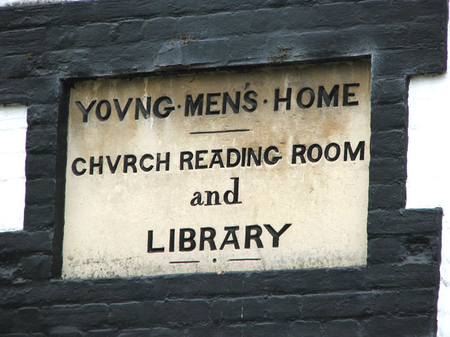 Young Men's Home (stone plaque)