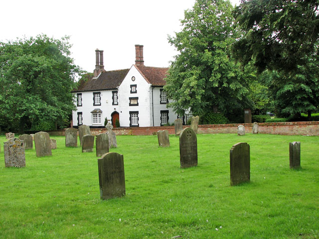 All Saints' church in Necton - churchyard