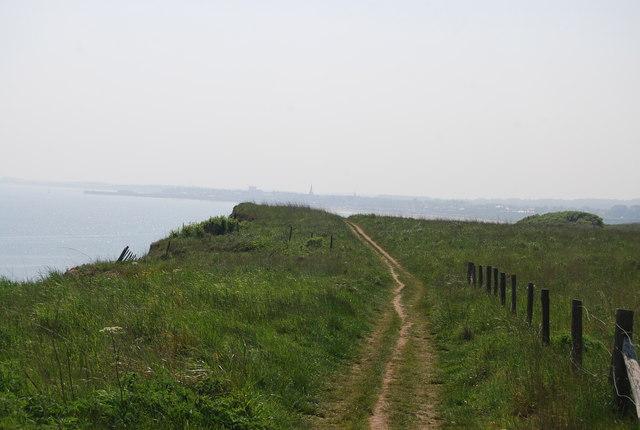 Headlands Way towards Bridlington