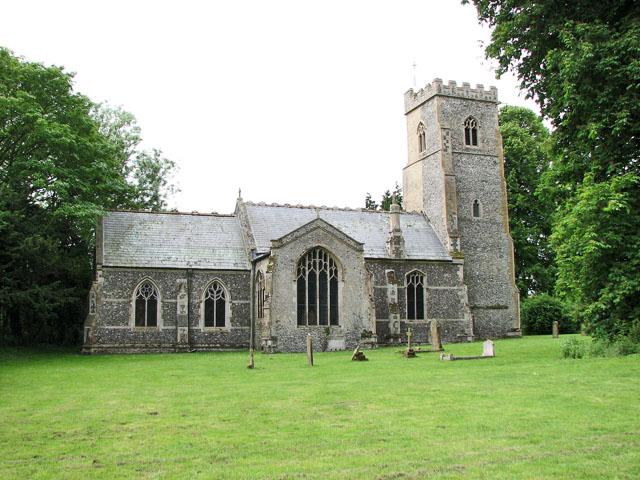 St Andrew's church in North Pickenham
