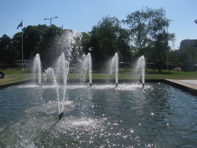 Civic Centre Fountains