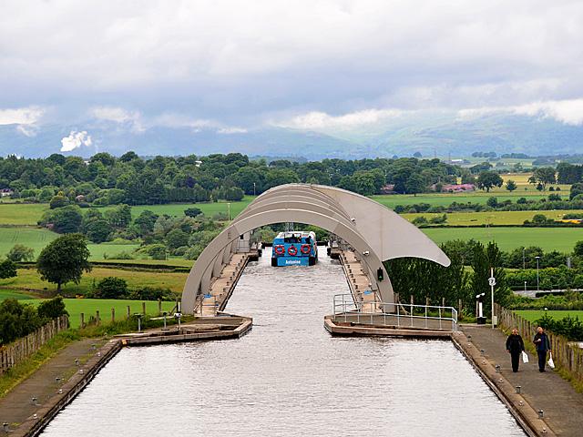 Falkirk Wheel Aqueduct