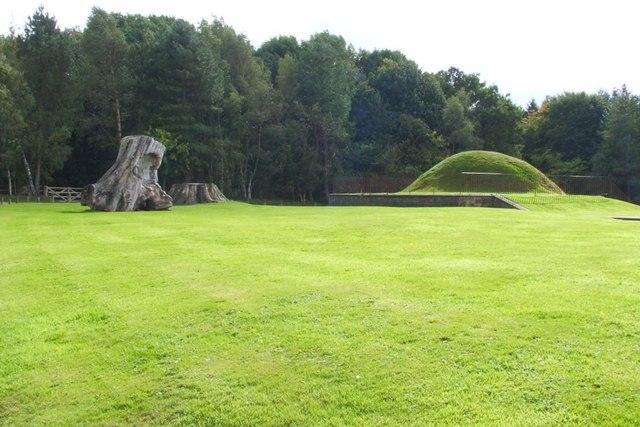 Chatelherault: the viewing mound
