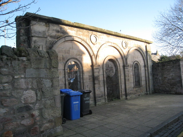 Remains of the Temperance Hall