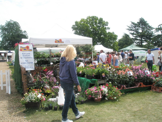 2010 Stansted House Garden Show- plant stall (3)