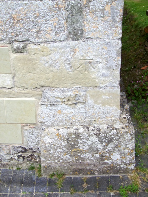 Bench Mark, St Andrew's Church