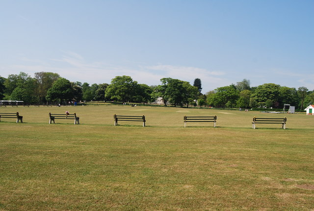 Benches, Sewerby Cricket Club ground