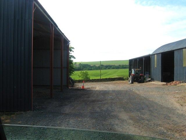 Farmyard at Swinnie