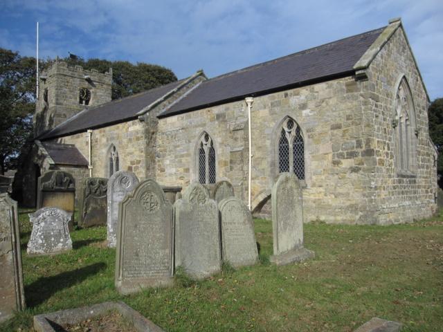 St John the Baptist, Cayton - south side