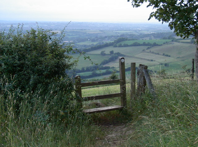 Stile at Kelston Round Hill