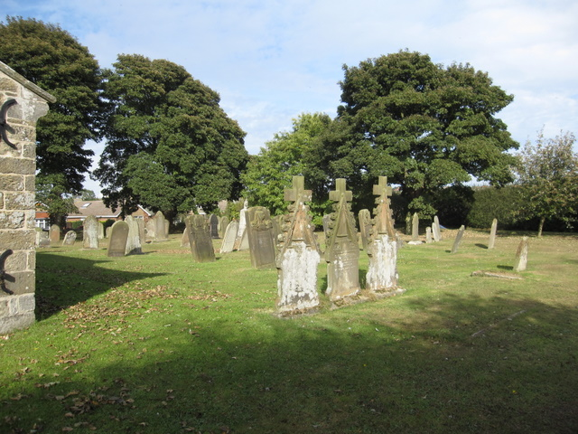 St John the Baptist, Cayton - graveyard
