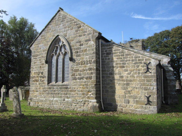 St John the Baptist, Cayton - west end